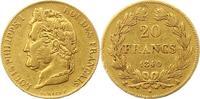 20 Francs Gold 1840  A Frankreich Louis Ph...