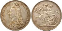 Crown 1887 Großbritannien Victoria 1837-19...