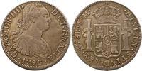 8 Reales 1793  FM Mexiko Carlos IV. 1789-1...