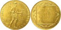 Dukat Gold 1927 Niederlande-Königreich Wil...