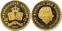 50 Gulden Gold 1979 Niederlandische Antill...