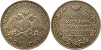 Rubel 1829 Russland Nikolaus I. 1825-1855. Sehr schön  165,00 EUR  +  4,00 EUR shipping
