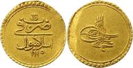 Zeri Gold 1703 Türkei Ahmed III. 1703 - 17...
