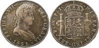 8 Reales 1822  PJ Bolivien Ferdinand VII. ...