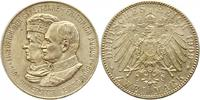 2 Mark 1909 Sachsen Friedrich August III. ...