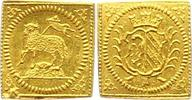 1/4 Lammdukatenklippe Gold 1700 Nürnberg-S...
