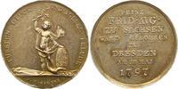 Silbermedaille 1797 Sachsen-Albertinische ...