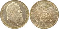 3 Mark 1911  D Bayern Luitpold. Fast Stemp...