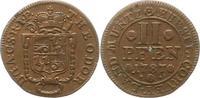 2 Pfennig 1787 Corvey Theodor von Brabeck ...