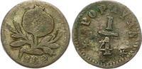 1/4 Decimo 1862 Kolumbien Vereinigte Staat...