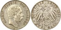 2 Mark 1899  E Sachsen Albert 1873-1902. S...