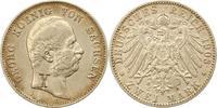2 Mark 1903  E Sachsen Georg 1902-1904. WG...