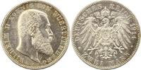 2 Mark 1914  F Württemberg Wilhelm II. 189...