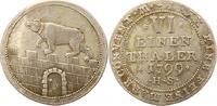 1/6 Taler 1799  HS Anhalt-Bernburg Alexius...