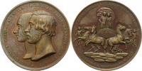 Bronzemedaille 1842 Sachsen-Coburg-Gotha E...