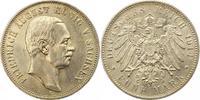 5 Mark 1914  E Sachsen Friedrich August II...