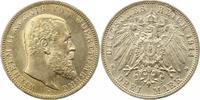 3 Mark 1914  F Württemberg Wilhelm II. 189...