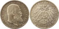 5 Mark 1904  F Württemberg Wilhelm II. 189...