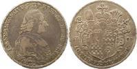 Taler 1783 Eichstätt, Bistum Johann Anton Freiherr v. Zehmen 1781-1790.... 245,00 EUR  +  4,00 EUR shipping