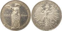 Taler 1862 Frankfurt-Stadt  Randfehler, sehr schön  80,00 EUR  +  4,00 EUR shipping
