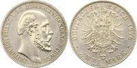 2 Mark 1876  A Mecklenburg-Schwerin Friedr...