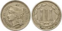 3 Cent 1867 Vereinigte Staaten von Amerika  Sehr schön  25,00 EUR  +  4,00 EUR shipping