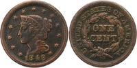 Cent 1848 Vereinigte Staaten von Amerika  Schön  12,00 EUR  +  4,00 EUR shipping