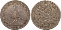 Taler 1695  BA Henneberg, Grafschaft Bernh...