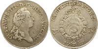 Schweden 1/3 Taler Gustav III. 1771-1792.