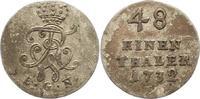 1/48 Taler 1732 Brandenburg-Preußen Friedr...
