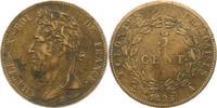 5 Centimes 1825  A Frankreich-Französische...