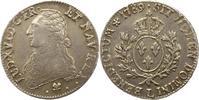 Ecu 1789  L Frankreich Ludwig XVI. 1774-17...