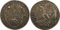 1/2 Taler oder Michaelspfennig 1720 Schwei...