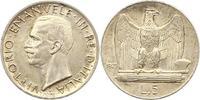 5 Lire 1929  R Italien-Königreich Vittorio...