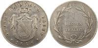 Taler 1816 Baden-Durlach Carl Ludwig Fried...