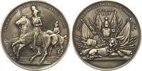 Silbermedaille 1848-1864 Bayern Maximilian...