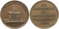 Bronzemedaille 1721 Reformation 200 Jahrfe...