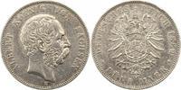 5 Mark 1889  E Sachsen Albert 1873-1902. S...