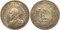 Rupie 1890 Deutsch Ostafrika  Schöne Patin...