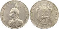 2 Rupien 1893 Deutsch Ostafrika  Broschier...