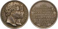 Silbermedaille 1829 Bayern Ludwig I. 1825-...