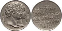 Zinnmedaille 1829 Bayern Ludwig I. 1825-18...