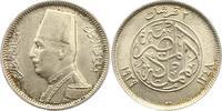 2 Piaster 1929 Ägypten Fuad 1917-1937. Ste...