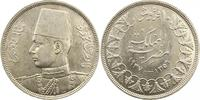 10 Piaster 1937 Ägypten Farouk 1936-1952. ...