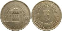 25 Piaster 1957 Ägypten Republik 1952-2013...