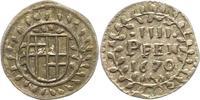 4 Pfennig 1670 Trier-Erzbistum Carl Caspar...