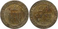 20 Centimes 1812  C Westfalen, Königreich ...