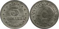 5 Dinara 1945 Jugoslawien Peter II. 1934-1...