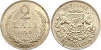 2 Lati 1926 Lettland / Latvijas Republik 1...