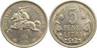 5 Litai 1925 Litauen Erste Republik 1918-1...
